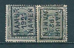 2740 Voorafstempeling Op Nr 183 - NAMUR 1921 NAMEN - Positie A & B - Préoblitérés