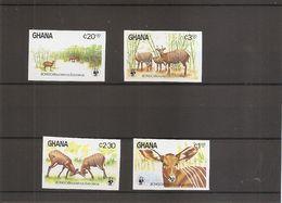 WWF  ( 850/853 Non Dentelés XXX -MNH- Du Ghana) - W.W.F.