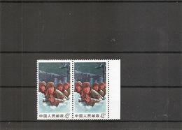 Chine ( 1789 En Paire XXX -MNH) - 1949 - ... Repubblica Popolare