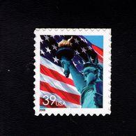 1037190103 SCOTT 3978 POSTFRIS MINT NEVER HINGED EINWANDFREI - FLAG AND LIBERTY STATUE - Etats-Unis