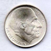 CZECHOSLOVAKIA, 50 Korun, Silver, Year 1975, KM #83 - Tchécoslovaquie