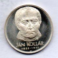 CZECHOSLOVAKIA, 50 Korun, Silver, Year 1977, KM #87, PROOF - Tchécoslovaquie