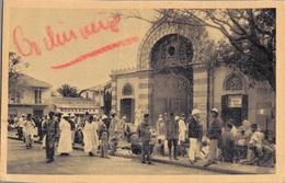 SENEGAL - DAKAR / LE MARCHE KERMEL (avec PHILATELIE AOF Et TAMPON MARINE NATIONAL) - Senegal