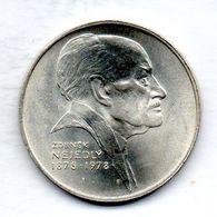 CZECHOSLOVAKIA, 50 Korun, Silver, Year 1978, KM #90 - Tchécoslovaquie