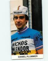 Daniel PLUMMER , Carte Format 6 X 11 Cm . Cyclisme. Wickes Spendor Europ Decor - Cyclisme