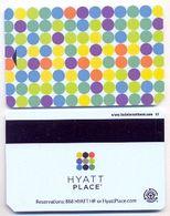 Hyatt Place Hotels, Used  Magnetic Hotel Room Key Card # Hyatt-20a - Hotel Keycards