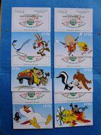 Lot 6 Calendriers Personnages De Dessins Animés WARNER BROS Coyote Bip Bip Daffy Duck Speedy Gonzales Pépé Le Putois ... - Kalender