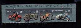 1037191561 SCOTT 4088A POSTFRIS MINT NEVER HINGED EINWANDFREI - MOTORCYCLES PLATE BLOCK - Etats-Unis