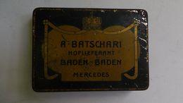 Ancienne Boite A Cigares Métal - Cigares - Accessoires