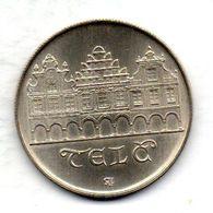CZECHOSLOVAKIA, 50 Korun, Silver, Year 1986, KM #124 - Tchécoslovaquie