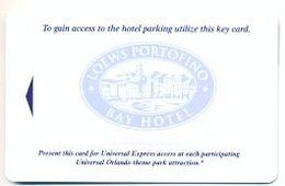 Loews Portofino Bay Hotel, Orlando, FL, U.S.A. Magnetic Hotel Room Key Card # Loews-1 - Hotel Keycards