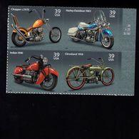 1037192626 SCOTT 4088A POSTFRIS MINT NEVER HINGED EINWANDFREI - MOTORCYCLES BLOCK 4087 FIRST STAMP - Etats-Unis