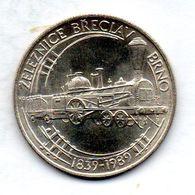 CZECHOSLOVAKIA, 50 Korun, Silver, Year 1989, KM #133 - Tchécoslovaquie