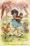 Elle Est En Chocolat Ma Cocotte à Moi   ......Illustrateur Germaine Bouret - Bouret, Germaine