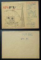 Yugoslavia 1957 Radio Card Branice Poland B33 - Jugoslavia