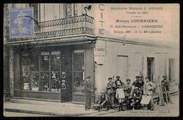 FRANCE -LIBOURNE - Maison Courrière.- Ancienne  Maison J. Audon. Fondée En 1811  ( Photo Leon Aubert) Carte Postale - Tiendas