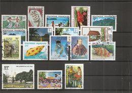 Polynésie ( Lot De Timbres Divers Différents Oblitérés) - Polynésie Française