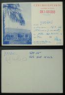Yugoslavia 1957 Radio Card Czechoslovakia Czech Slovakia B36 - Jugoslavia