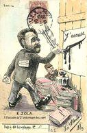 Îllustrateur Politique LA FLECHE  N°5  J'ACCUSE Affaire DREYFUS  ( 40 Exemplaires ) - Satirical