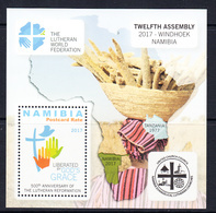2017 Namibia Lutheran Congress Souvenir Sheet MNH - Namibia (1990- ...)