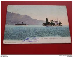 SUISSE  -  CLARENS  -  Lac Léman  -  Île De Salagnon Près Clarens   -  1905 - VD Vaud
