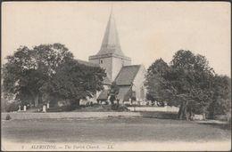 The Parish Church, Alfriston, Sussex, C.1910 - Lévy Postcard LL2 - Otros