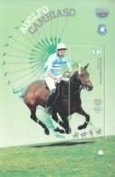 2011 Argentina Polo Horses Complete Souvenir Sheet MNH - Argentinien
