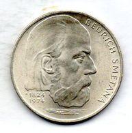CZECHOSLOVAKIA, 100 Korun, Silver, Year 1974, KM #82 - Tchécoslovaquie