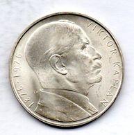CZECHOSLOVAKIA, 100 Korun, Silver, Year 1976, KM #85 - Tchécoslovaquie