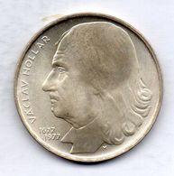 CZECHOSLOVAKIA, 100 Korun, Silver, Year 1977, KM #88 - Tchécoslovaquie