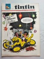 TINTIN N° 890  SAMUEL MORSE ET LE TELEGRAPHE ELECTRIQUE (4p) SANS LE JEU EN PAGE CENTRALE  COVER MITTEI - Tintin