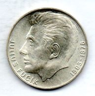 CZECHOSLOVAKIA, 100 Korun, Silver, Year 1978, KM #92 - Tchécoslovaquie