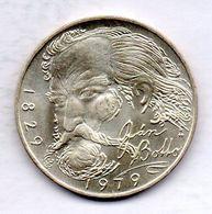 CZECHOSLOVAKIA, 100 Korun, Silver, Year 1979, KM #99 - Tchécoslovaquie