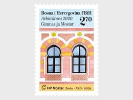 Bosnië / Bosnia - Postfris / MNH - Complete Set Architectuur 2020 - Bosnie-Herzegovine