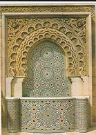 Carte Postale. Maroc. Rabat. Mausolée Mohamed V. Fontaine Décorative Extérieure. Etat Moyen. - Monumentos