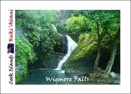 Cook Islands Wigmore Falls New Postcard Cookinseln AK - Cook Islands