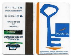 Novotel Hotel, Madrid, Spain, Used  Magnetic Hotel Room Key Card # Novotel-45 - Hotel Keycards