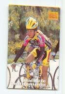 Michele LADDOMADA , Carte Format 6.2 X 8.9 Cm . Cyclisme. Amore & Vita - Cyclisme