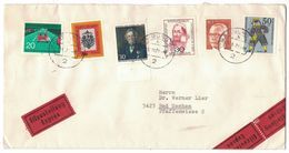 JB112  Germany 1971 Cover Expres To Bad Sachsa - Multi Franked - [7] Federal Republic