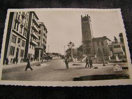 C.P.A.- Afrique - Algérie - Mostaganem - Hôtel De Ville Et Banque B.N.C.I. - 1957 - SUP - (DI 50) - Mostaganem