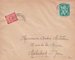 Belgique - Lot De 9 Fabrications Sur Le Thème Des Timbres-taxes Du Nouveau Type Libération - 1945 - Impuestos