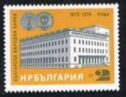 BULGARIA -  SG 2726  - 1979 BULGARIAN NATIONAL BANK ANNIVERSARY -   MINT** - Bulgarie