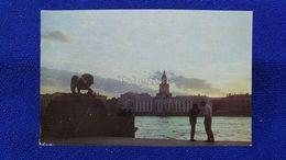 Leningrad Admiralty Embankment Russia - Russie