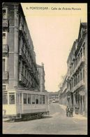 ESPAGNE -PONTEVEDRA - Calle De Andrés Muruais. ( Nº 8) Carte Postale - Tramways