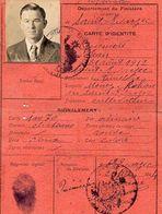 C6  1944 Carte D'identité De St évarzec (29) - Marcophilie (Lettres)