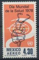 Mexique 1978 Année Mondiale Santé Sthetoscope MNH - Andere
