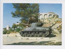 Tank - Char Sherman M4 A1 - Le Mont Faron Mémorial Débarquement En Provence - Matériel