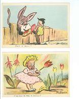 CARTE HUMOUR --- De G.COPIER (Lot De 2 Cartes) - Fancy Cards