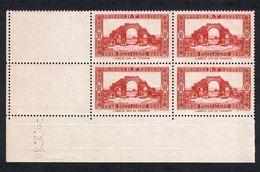Année 1938-N°139 Neuf**MNH : Lambèse : Bloc De 4  (cd) - Algerien (1924-1962)