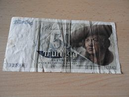 Bank Deutscher Länder 50 Deutsche Mark 1948(Franzosenschein) - [ 7] 1949-… : RFD - Rep. Fed. Duitsland